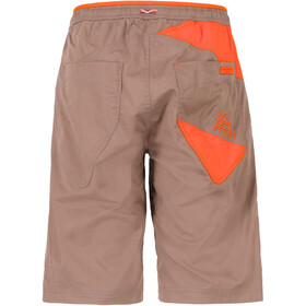 La Sportiva Bleauser Shorts Herr falcon brown/pumpkin
